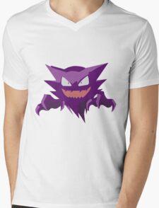 Haunter Pokemon Simple No Borders Mens V-Neck T-Shirt