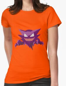 Haunter Pokemon Simple No Borders Womens Fitted T-Shirt