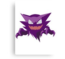 Haunter Pokemon Simple No Borders Canvas Print