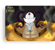 Born to be Dead- Nyx's first appearance Canvas Print