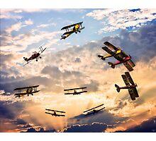 Tiger Moth Ballet Photographic Print