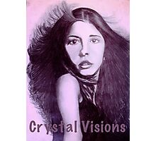 Crystal Visions Purple Photographic Print