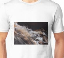 Light and Shadow Waterfall Unisex T-Shirt