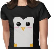 Face the Penguin Womens Fitted T-Shirt