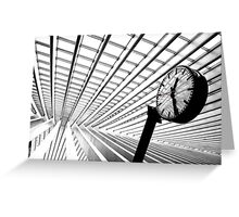 Time to go.! Greeting Card