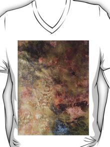 Scribbles on gold and copper T-Shirt