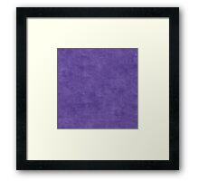 Ultra Violet Oil Pastel Color Accent Framed Print