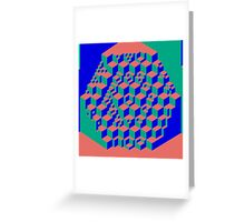 Cubism Greeting Card