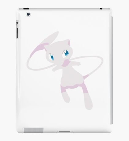 Mew Pokemon Simple No Borders iPad Case/Skin
