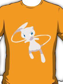 Mew Pokemon Simple No Borders T-Shirt