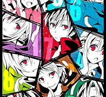 Kagerou Project Chars.  by Revoltec17