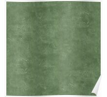 Vineyard Green Oil Pastel Color Accent Poster