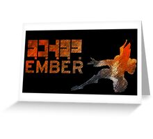 Warframe -- Ember Greeting Card