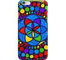 Sacred Geometry - Wheel Of Fortune iPhone Case/Skin