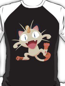 Meowth Pokemon Simple No Borders T-Shirt