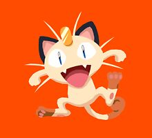 Meowth Pokemon Simple No Borders Unisex T-Shirt