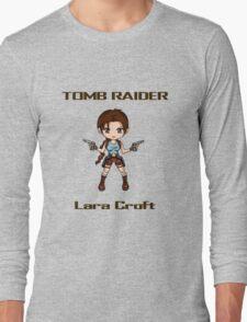 Tomb Raider Chibi Lara Long Sleeve T-Shirt