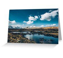 Bidean nam Bian, Highlands, Scotland Greeting Card