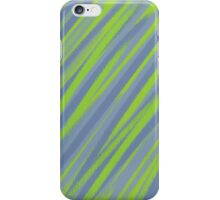 The blues and greens iPhone Case/Skin