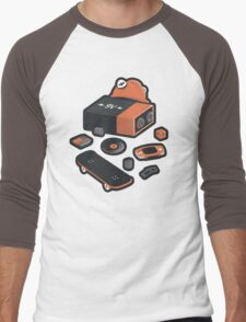 9 Volt True Form Men's Baseball ¾ T-Shirt