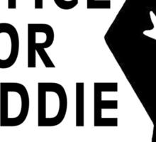 Justice For Freddie Gray Sticker