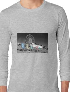 Beside the seaside, beside the sea Long Sleeve T-Shirt