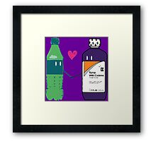 Trap Love Framed Print