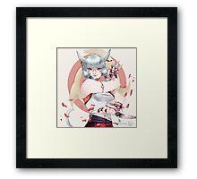 Yuino Framed Print