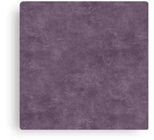Vintage Violet Oil Pastel Color Accent Canvas Print