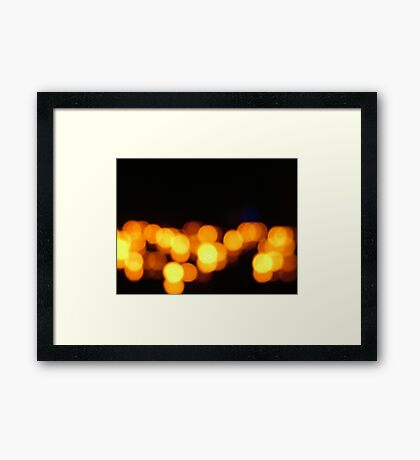 I've been down Framed Print