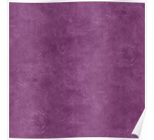 Wood Violet Oil Pastel Color Accent Poster