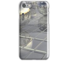 400 Silver Spheres iPhone Case/Skin