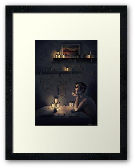 Claude's Fireflies by Aimee Cozza