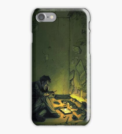 Claude & The Firefly iPhone Case/Skin