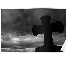 stormy cross Poster
