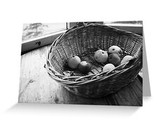Rotten apples Greeting Card
