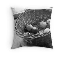 Rotten apples Throw Pillow