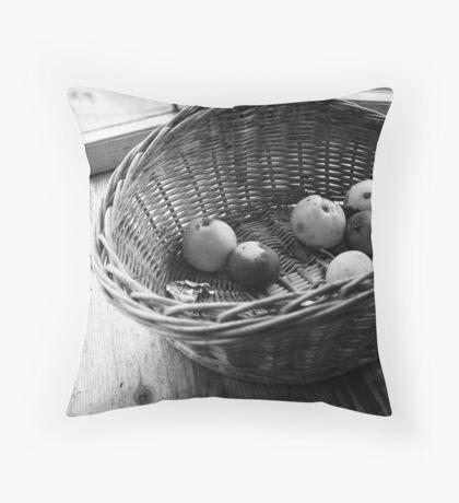 Rotten apples Throw Pillow