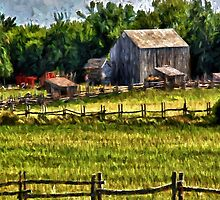 Country Fences by Gypsykiss