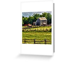 Country Fences Greeting Card