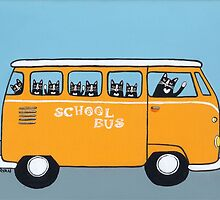 Cats on the School Bus by Ryan Conners