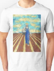 THE FARMER SOWING HIS CORN Unisex T-Shirt