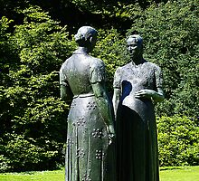 Two Pregnant Women by Charles Leplae by Gilberte
