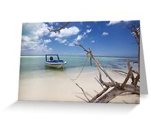 Cozumel, Mexico - Drift Away Greeting Card