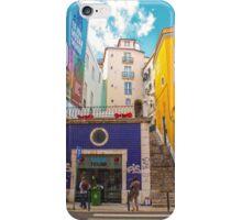 Rua do jardim do tabaco. Lisbon iPhone Case/Skin