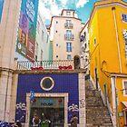 Rua do jardim do tabaco. Lisbon by terezadelpilar~ art & architecture
