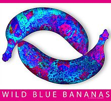WILD BLUE BANANAS by monica palermo