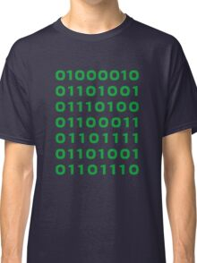 Bitcoin binary Classic T-Shirt