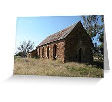 Abandoned church, Goolagong, N.S.W. Greeting Card