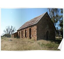 Abandoned church, Goolagong, N.S.W. Poster